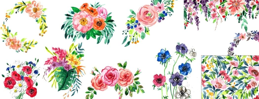 Loose Style Flowers